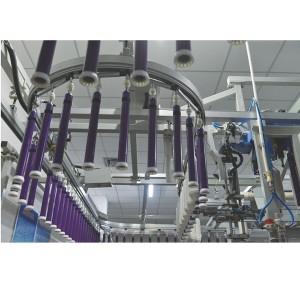 Roving-ring spinning link system